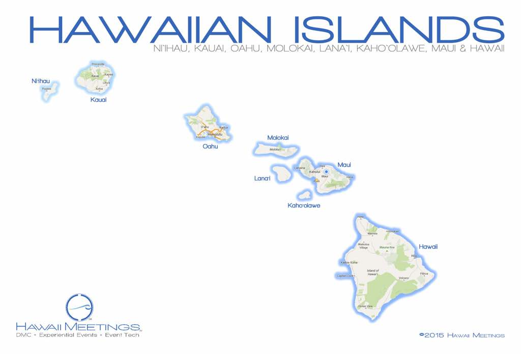 The Hawaii Islands has some of the worlds finest incentive meeting location in the world.